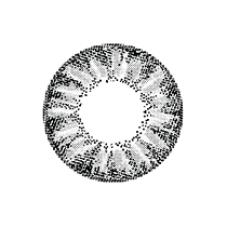 "Geo ""Circle"" SILVER CRYSTAL WIA10"