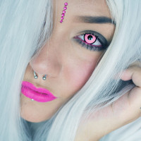 Sofi | Geo Crazy/Cosplay Black Rim Pink SF36